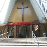 Photo taken at Igreja Nossa Senhora de Fátima e São Jorge by Camila M. on 8/21/2014