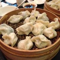 Photo taken at Qing Hua Dumpling by Acadieman M. on 10/19/2012
