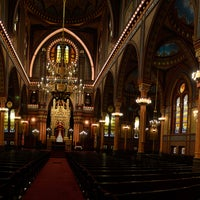 Photo taken at Plum Street Temple by Alan M. on 11/4/2012