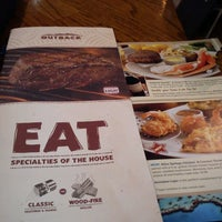 Photo taken at Outback Steakhouse by Julie L. on 7/20/2013
