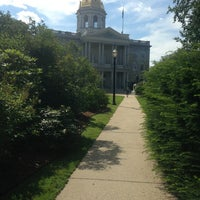 Photo taken at New Hampshire State House by Lauren K. on 7/12/2013