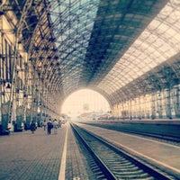 Photo taken at Kievsky Rail Terminal by shaii on 6/17/2013