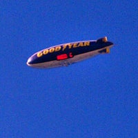 Photo taken at Goodyear Blimp by Chrystall F. on 2/24/2013