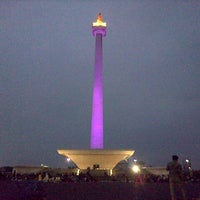 Photo taken at Monumen Nasional (MONAS) by Sandita on 9/21/2013
