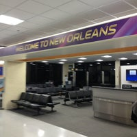 Photo taken at Louis Armstrong New Orleans International Airport (MSY) by Chelle G. on 1/31/2013