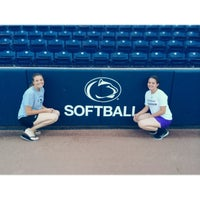 Photo taken at Nittany Lion Softball Park by Emily G. on 6/19/2014