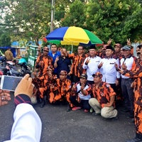 Photo taken at GOR Segiri by Baim Farisma Ananda SE.M.Si 🇮🇩 on 12/5/2015