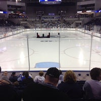 Photo taken at Pegula Ice Arena by Cassie M. on 10/11/2013