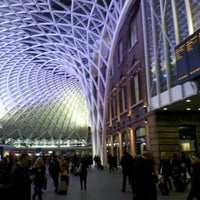 Photo taken at London King's Cross Railway Station (KGX) by Ranno K. on 2/9/2013