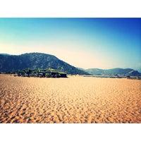 Photo taken at İztuzu Beach by Tuba K. on 7/27/2014