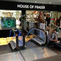 Photo taken at House of Fraser by Robert on 6/25/2013