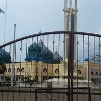 Photo taken at Masjid Agung Al Karomah Martapura by H. OESAY C. on 8/8/2013