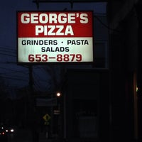 Photo taken at George's Pizza by Ben B. on 4/7/2014