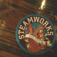 Photo taken at Steamworks Brewing Company by Mary Ephraim A. on 6/25/2013