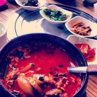 Photo taken at Da Sa Rang Korea BBQ Restaurant by Oscar W. on 12/6/2012