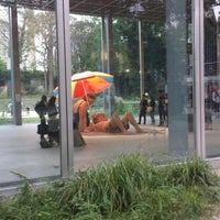 Photo taken at Fondation Cartier pour l'Art Contemporain by Lilian C. on 9/22/2013