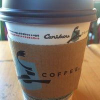 Photo taken at Caribou Coffee by Sirg ed N. on 1/27/2014