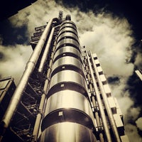 Photo taken at Lloyd's of London by Giovanni B. on 8/10/2013