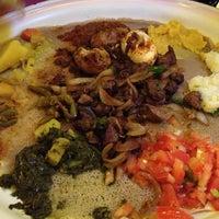 Photo taken at Meskerem Ethiopian Restaurant by Sarah H. on 6/26/2013