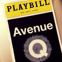 Photo taken at Avenue Q by Miley on 9/16/2013