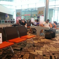Photo taken at Gates A1-A8 by Eng cong C. on 3/10/2013