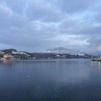 Photo taken at Seebrücke by Norah on 1/25/2015