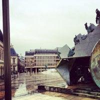 Photo taken at Place Louis Pradel by Marc C. on 5/21/2013