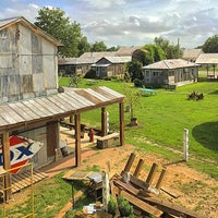 Photo taken at Shack Up Inn by Jack S. on 6/8/2014