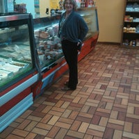 Photo taken at Schmidts Meat Market by Gordon C. on 5/3/2014