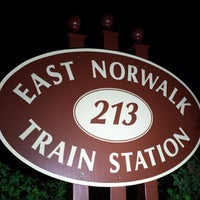 Photo taken at Metro North - East Norwalk Train Station by Ramazan K. on 9/17/2013