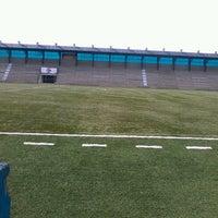 Photo taken at Estádio Passo D'Areia (Zequinha) by Lucas M. on 7/12/2013