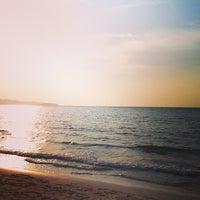 Photo taken at Sai Keaw Beach by Pairy R. on 1/4/2013