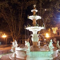 Photo taken at Plaza Matriz by Sebastian H. on 5/1/2013