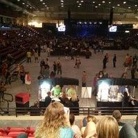 Photo taken at Kansas Star Arena by Janine R. on 6/30/2013
