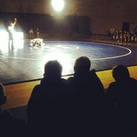 Photo taken at Hickory Ridge High School by Genevieve S. on 12/5/2013