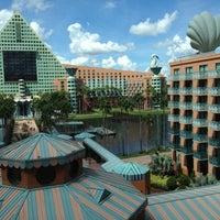 Photo taken at Walt Disney World Swan Hotel by Erin W. on 9/29/2012