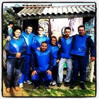 Photo taken at Rhinos Paintball by Juan Pablo G. on 9/4/2013