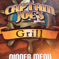 Photo taken at Captain Joe's Grill by Mary E. on 7/29/2013