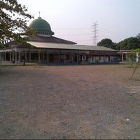 Photo taken at Masjid Raya Jatimulya by fadly f. on 9/30/2012