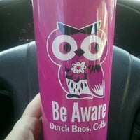 Photo taken at Dutch Bros. Coffee by Amanda S. on 10/1/2012