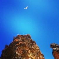 Photo taken at Praia da Batata by EUROMAG on 8/4/2013
