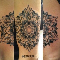 Photo taken at American Tattoo (Bond Street) by AmericanTattoo A. on 3/23/2016