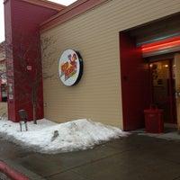 Photo taken at Red Robin Gourmet Burgers by Matt B. on 1/1/2013