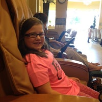 Photo taken at Illusions Nail Spa by Mary M. on 5/18/2014