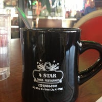 Photo taken at Four Star Diner by Felipe P. on 1/26/2013