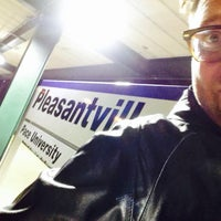 Photo taken at Metro North - Pleasantville Train Station by Seth F. on 4/6/2015