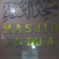 Photo taken at Masjid Ad-Du'a by Rian P. on 8/8/2013