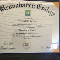 Photo taken at Brookhaven College by Malik J. on 7/17/2015