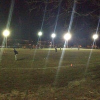 Photo taken at Patterson Park Kickball by Joe S. on 4/10/2013