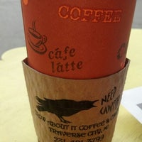 Photo taken at Crow About It Coffee & Cakes by Tara Q. on 7/2/2013